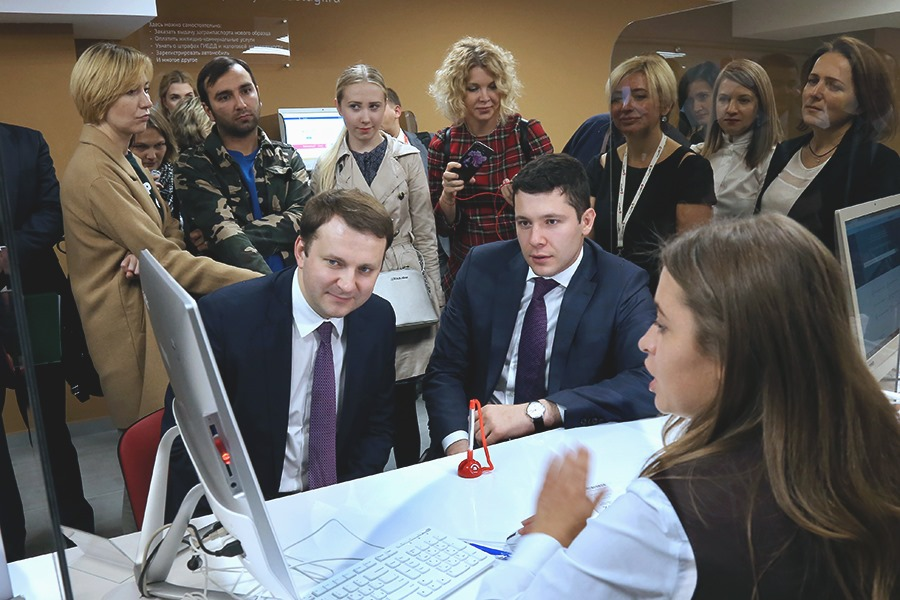 Антон Алиханов и Максим Орешкин