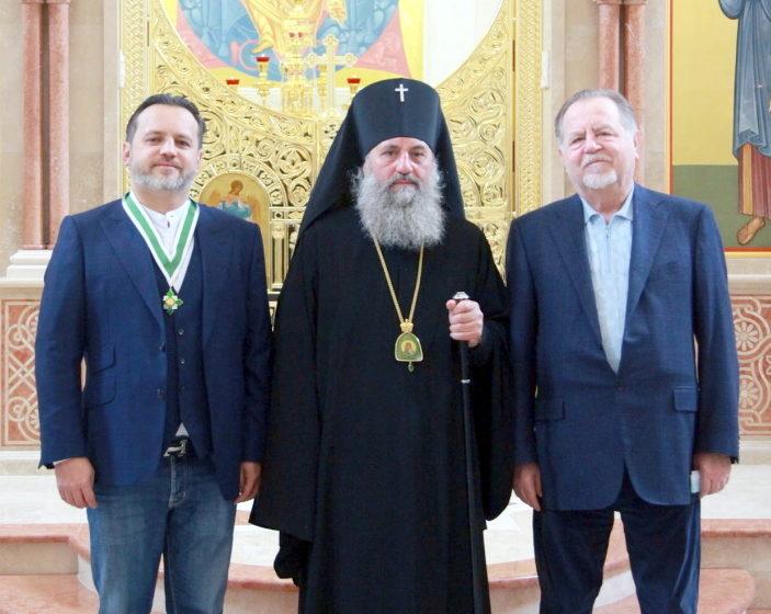 Сергей Щербаков, архиепископ Балтийский и Калининградский Серафим, Владимир Щербаков