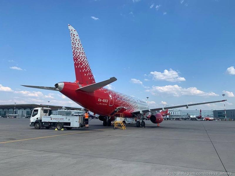 «Россия» приступила к полетам в Грозный